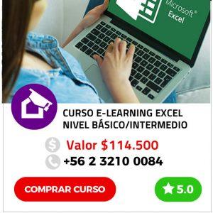 Curso Online de Excel Nivel Básico/Intermedio